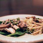 chicken marsala on plate