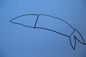 Outline of shrimp