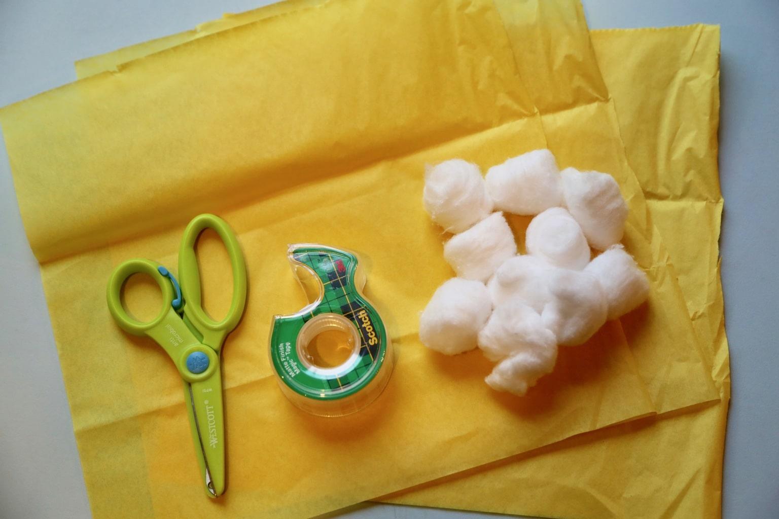Tortellini craft supplies
