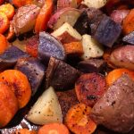 Roasted Garlic Potatoes & Carrots
