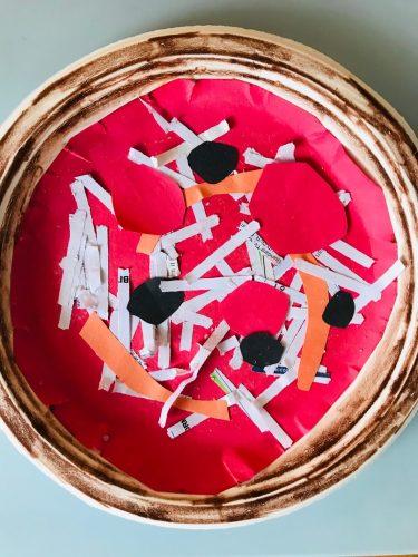 Paper Pizza craft