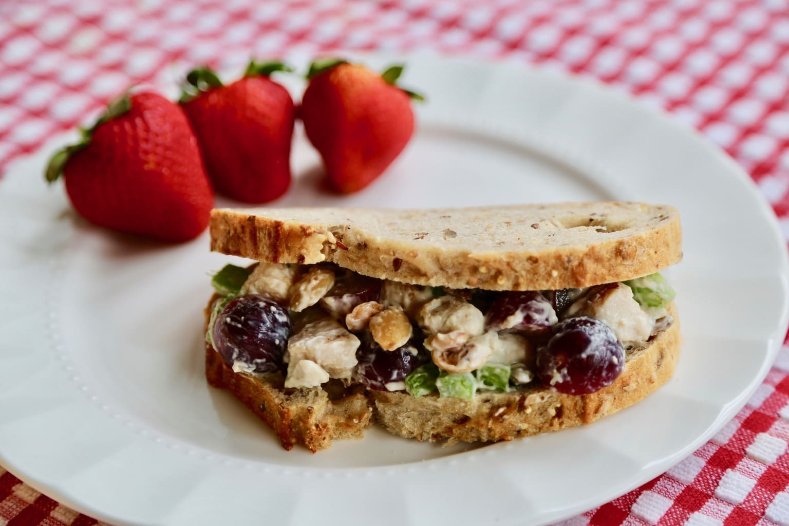 Perfect Picnic Chicken Salad Sandwich