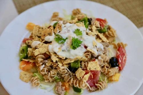 Crunchy Taco Pasta Salad