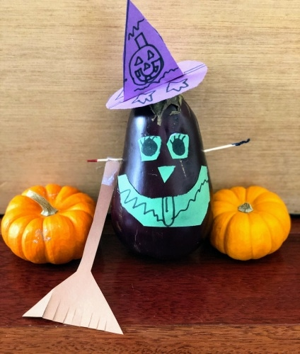 Eggplant Witch