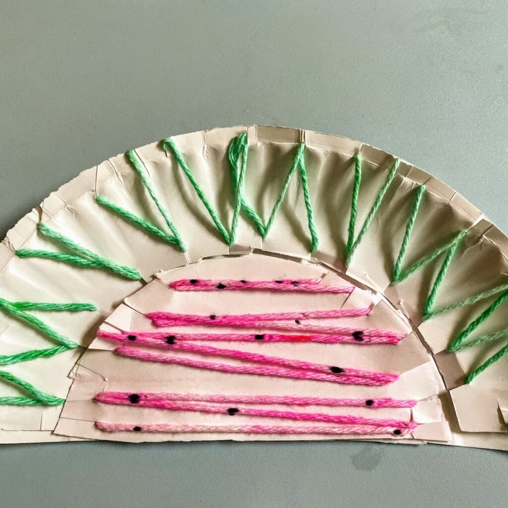 watermelon yarn craft