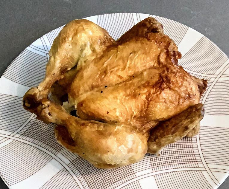 whole roasted chicken for pesto recipe