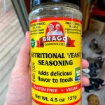 bottle of Bragg's Nutritional Yeast