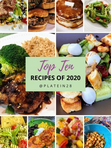 ten most popular recipes of 2020