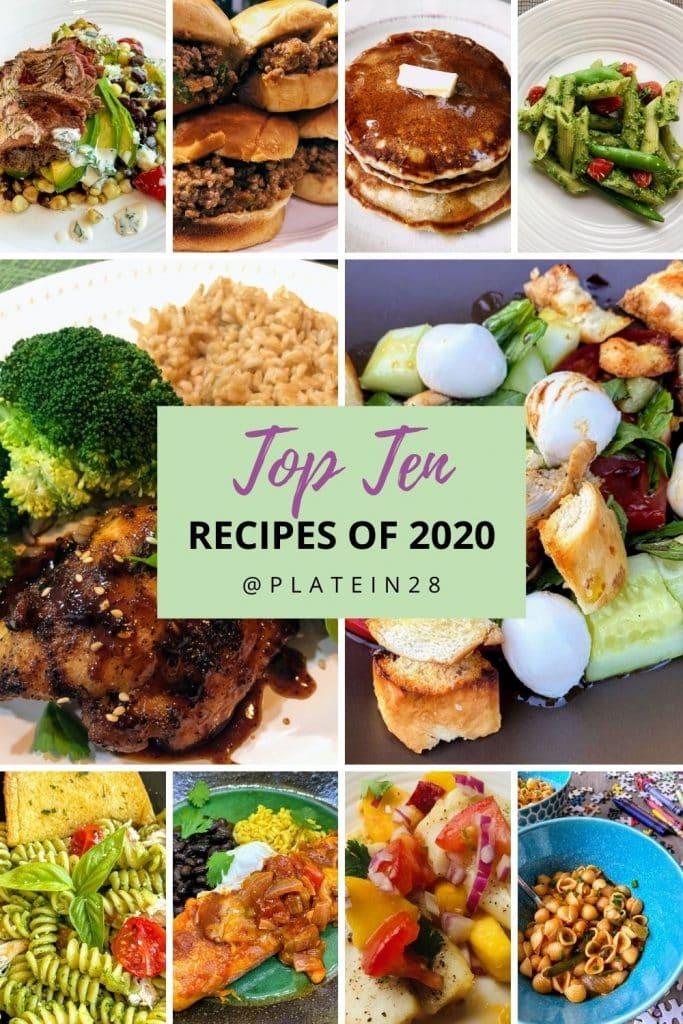 ten most popular recipes of 2020