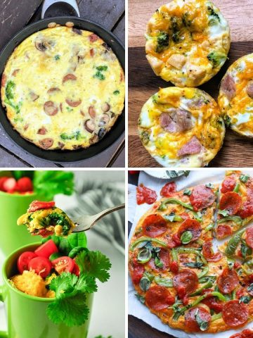four types of egg recipes